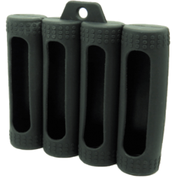 Estuche para baterías 18650 cuádruple (Coil master)