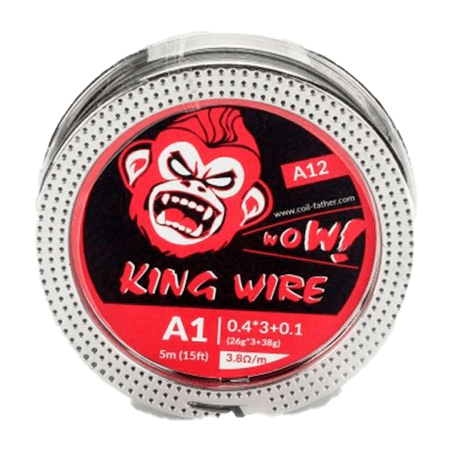 King Wire Kanthal A1 Fused Clapton