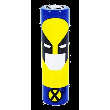 Protectores de baterías 18650 de PVC de personajes de comics