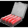 Estuche para baterías 18650 cuádruple (Chubby Gorila)